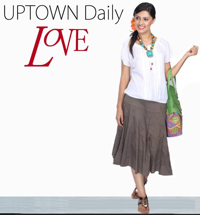 skirts for women online India | UPTOWN GALERIA